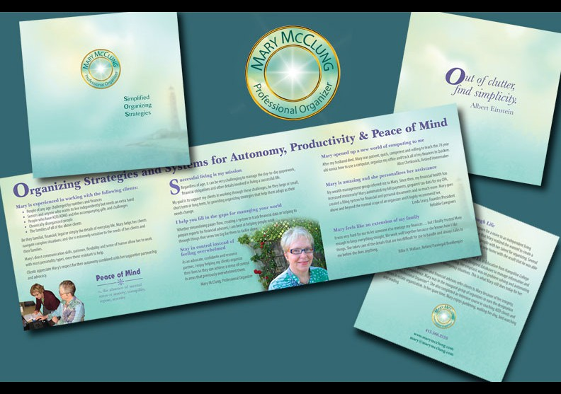 Mary McClung Logo and Brochure