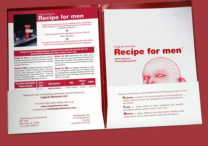 Recipe for Men Folder