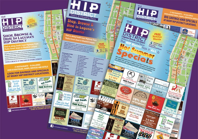 HIP District Summer Ads