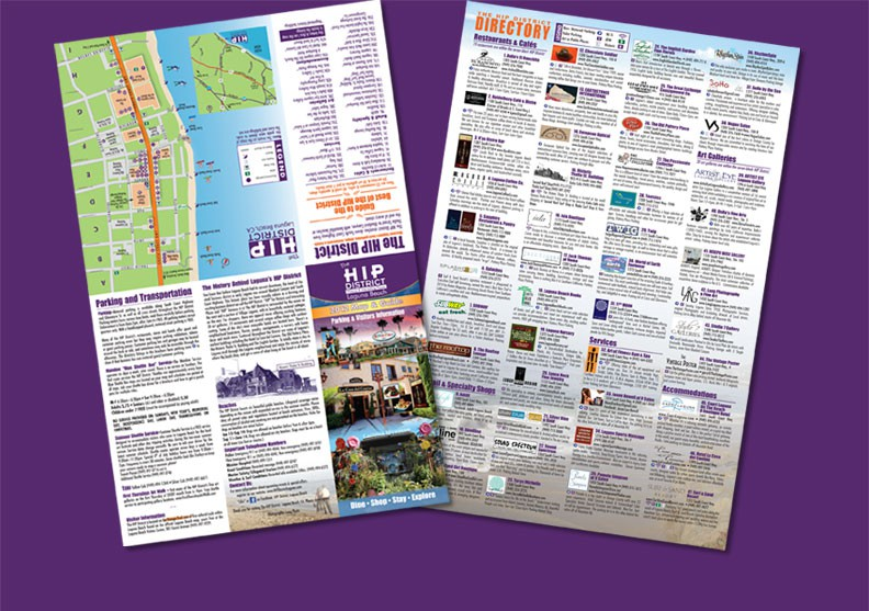 HIP Map/Directory Unfolded