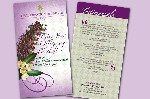 Floral Creations Brochure Front & Back
